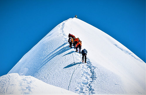 Island Peak (6189 m) Expeditionen