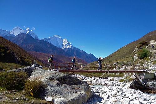 Three High Passes  Trekking 22 Tage