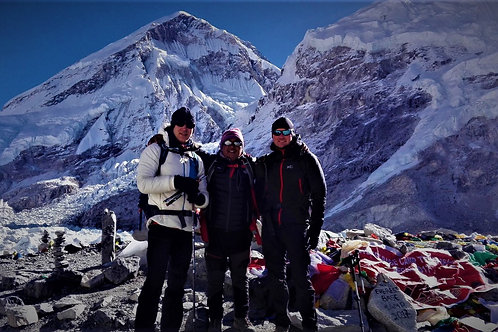 Mount Everest Basislager Trekking