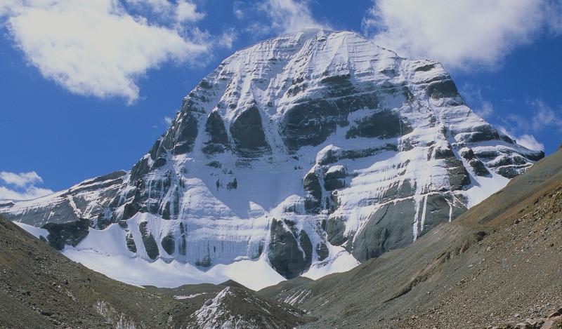 Der heilige Berg Kailash im Westen Tibets