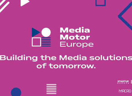 Proud to be supported by MediaMotorEurope (MME) Program