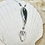 Thumbnail: Mermaid Dance Pendant, Fine Silver & Labradorite