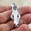 Thumbnail: Running Free, Sterling Silver Carved Pendant