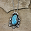 Thumbnail: Flying Area 51 Turquoise Pendant