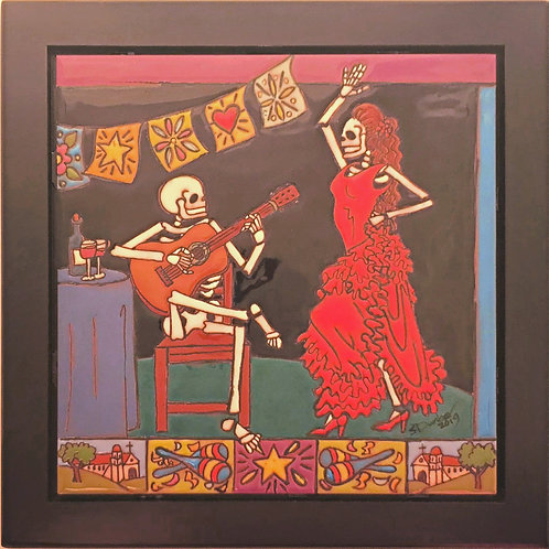 Flamenco and Guitarist