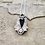 Thumbnail: Follow Your Heart, Fine Silver & Labradorite Pendant