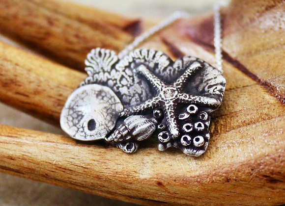 Reef Bliss Sterling Silver Pendant