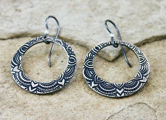 Sarong Loopy Earrings