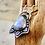 Thumbnail: Raven Moon Pendant, Rainbow Moonstone Fine Silver