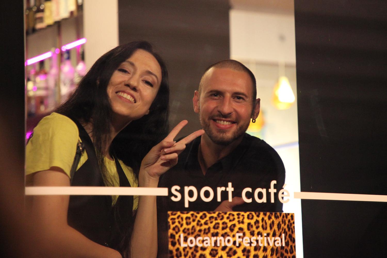 Sport Cafe's Davide and Camila Koller