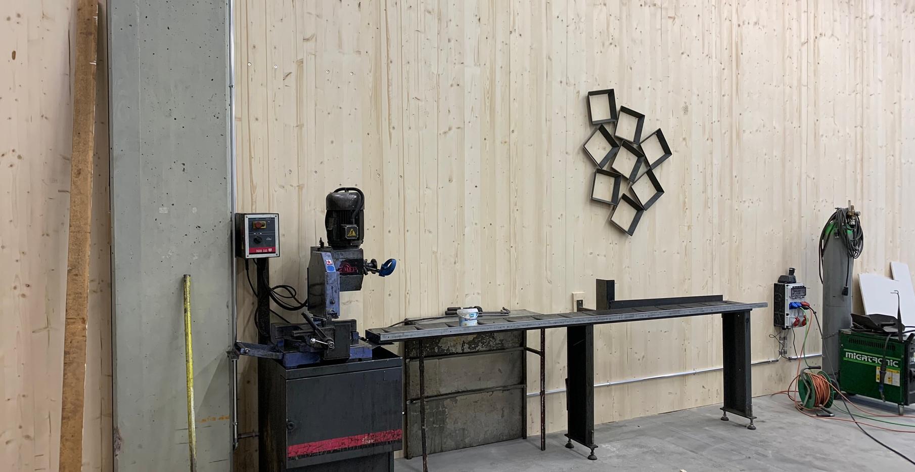 Neuer Standort Metallsäge