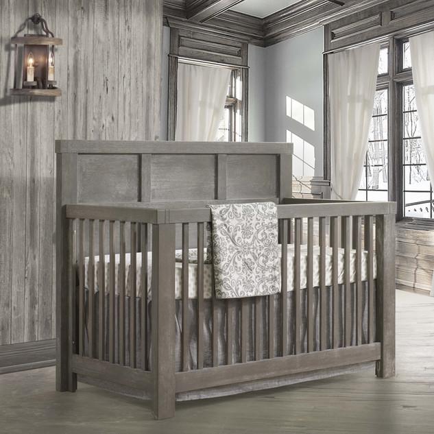 Rustico Crib in Owl