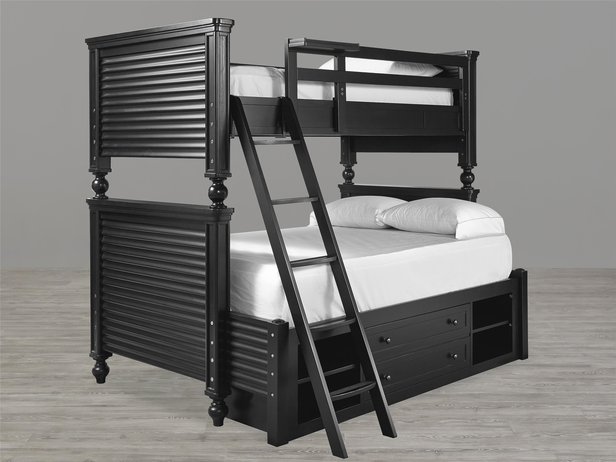 Black & White All American Bunk Bed