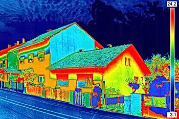 Thermografie, Wärmebrücken