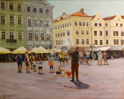 The Bubble Conductor, Prague