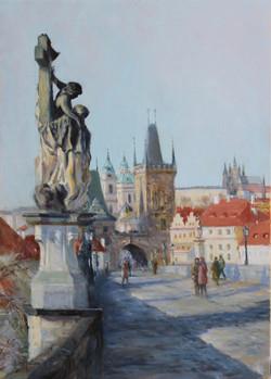 St Luthgard,King's Way, Prague