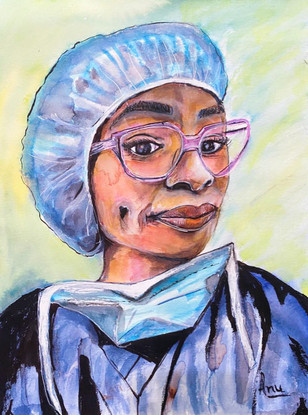 Dr. Kamaria Cayton Vaught by Dr. Anu Gupta