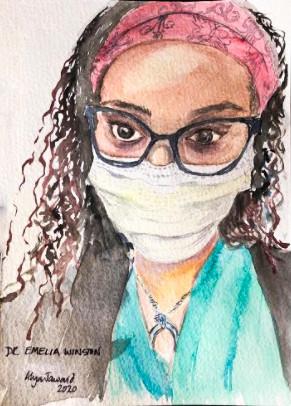 Dr. Emelia Winston by Dr. Alaya Jawaid