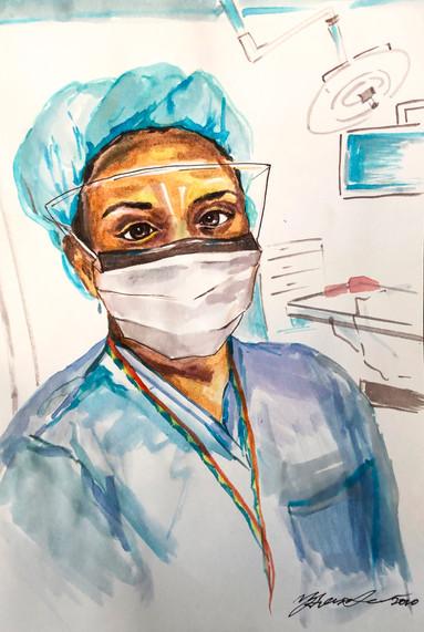 Dr. Melanie Hafford by Dr. Yana Greenstein