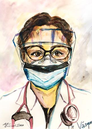 Dr. Nora Vásquez by Dr. Yana Greenstein