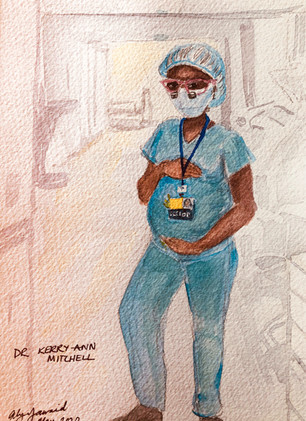 Dr. Kerry-Ann Mitchell by Dr. Alya Jawaid