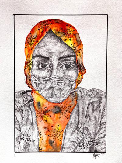 Dr. Asima Ahmad by Sydney Maysmith