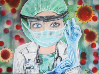 Portrait by Dr. Anu Gupta