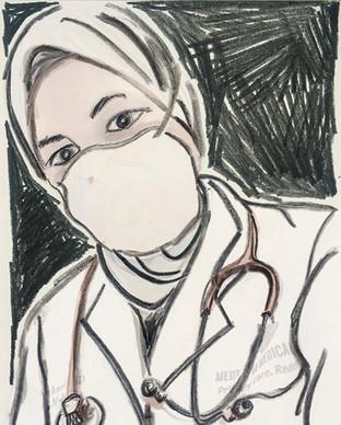 Dr. Sarosh Ahmed by Holly McClelland