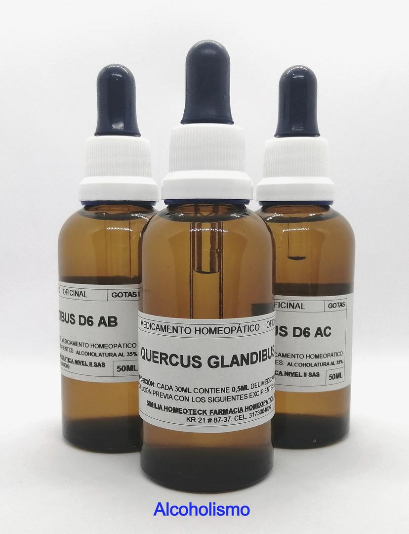 Tratamiento Quercus Glandibus