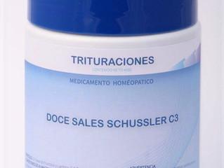 Las 12 Sales Minerales del Dr. Schüssler