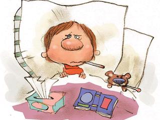 Alivie síntomas de la gripe común