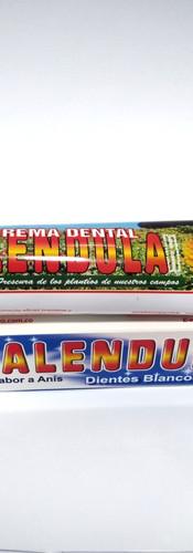 Crema dental de Calendula