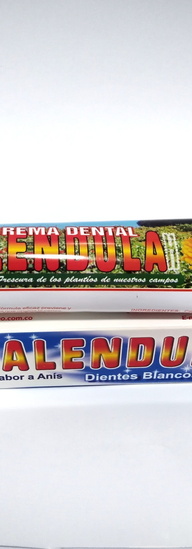Crema dental de Calendula