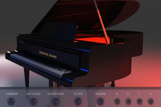 echo sound works denver grand piano kont