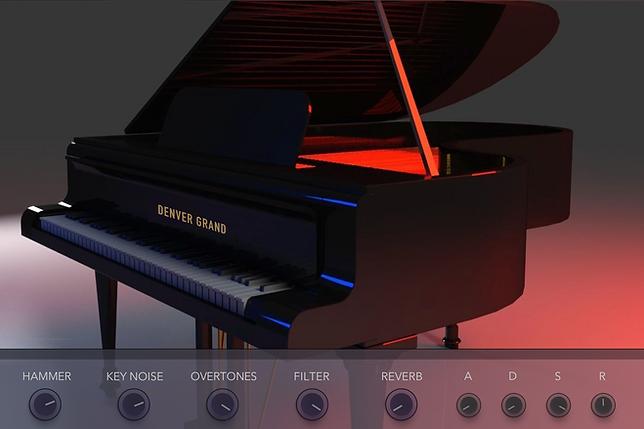 echo sound works denver grand piano kont