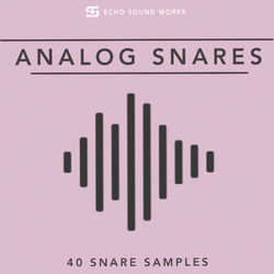 Download 40 analog snare samples free