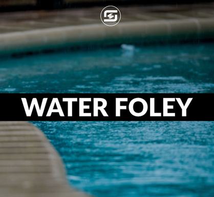 Water foley samples