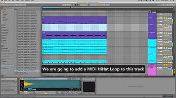 Bonus Hi Hat MIDI Loops Video Screenshot