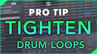 how to mix and process drumloops