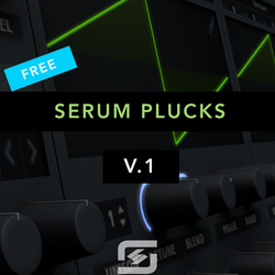 free edm plucks for serum