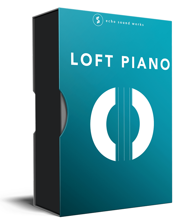 Product box for Echo Sound Works Loft Piano for Native Instruments Kontakt 6