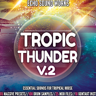 Tropical house sounds for massive