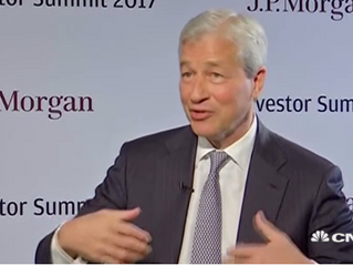 Governments will close down bitcoin and cryptocurrencies if they get too big, warns Jamie Dimon