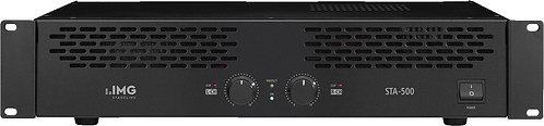 -AMPLIFICATEUR 2 X200W STAGLINE STA500II (STA 500)