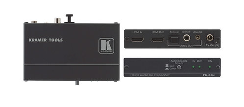 -EXTRACTEUR AUDIO HDMI KRAMER FC-46XL (FC46XL)