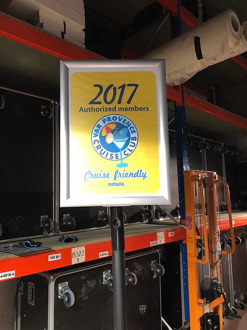 -PANNEAU INFORMATION PORTE AFFICHE A3 (PANA3)