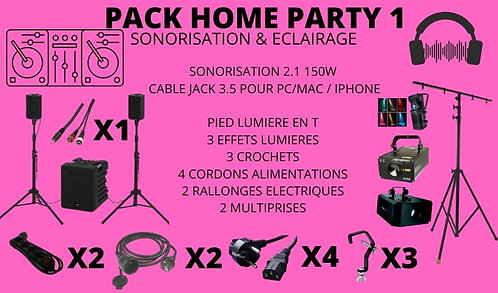 -PACK SON LIGHT HOME PARTY 1