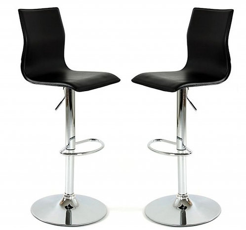 LOT DE 2 CHAISES DE BAR CHAISEBAR (CB1)