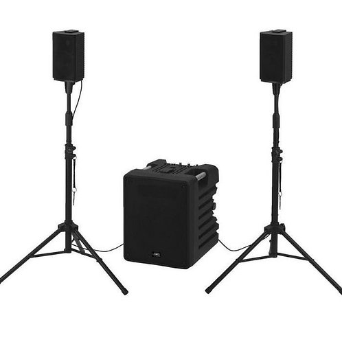 -SYSTEM SON 2.1 COMPACT  KUBE 350 W STAGELINE TRITON 350 (KUBE350)