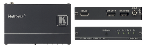 -AMPLIFICATEUR DISTRIBUTEUR HDMI 1 ENTREE 2 SORTIES (VM2HXL)
